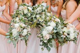wedding flowers eucalyptus and andrew swans trail farm wedding snohomish wedding