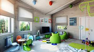 bright green kids room interior design ideas