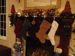 garlands with lights for mantle happy holidays mantel