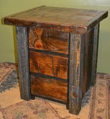 Wrought Iron And Wood Nightstands Bedroom Nightstand Ashley Furniture Nightstand Reclaimed Wood