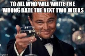 Date Meme - leonardo dicaprio cheers meme imgflip