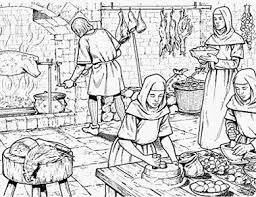 cuisine au moyen age thématique médiévale cuisine
