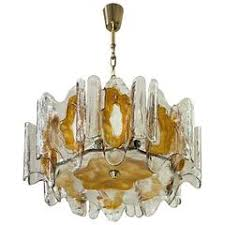 Orange Glass Chandelier J T Kalmar Chandeliers And Pendants 251 For Sale At 1stdibs