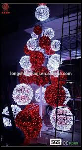 large outdoor christmas balls lights large outdoor christmas