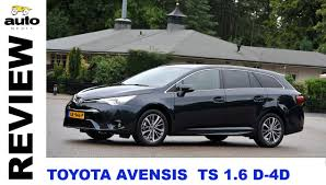 toyota avensis toyota avensis touring sports 1 6 d 4d review 2015 youtube