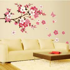 Poster Wallpaper For Bedrooms Aliexpress Com Buy Bathroom Flower Butterfly Wall Stickers Decal