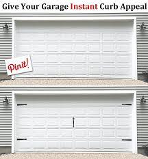 Garage Door Curb Appeal - how to install decorative carriage garage door hardware sweeties