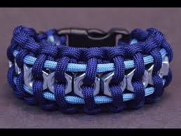 make paracord survival bracelet images Paracord bracelet how to make the hex nut paracord survival jpg