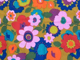 Home Decor Weight Fabric by Flower Power Fabric 5th Ave Designs Large Scale Floral Fabric