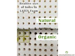 Latex Upholstery Foam 100 Natural Gols Organic Dunlop Latex Foam 38 X 79 5 Inch