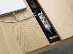 Desk With Cable Management by Laptop Desk Cable Management Storage System Design Gadgets