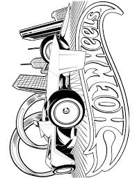 hotwheels coloring pages wheels 14 coloringcolor com