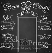 wedding backdrop chalkboard planning a wedding of your dreams on any budget