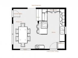 Kosher Kitchen Floor Plan Kitchen Floor Plans With Dimensions Great Small Design Tikspor