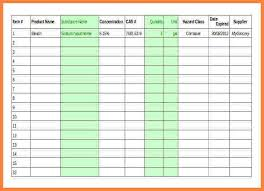 Chemical Inventory Template Excel by 10 Inventory Spreadsheet Templates Costs Spreadsheet