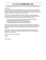 sample cover letters for nursing 6 nursing cover letter examples