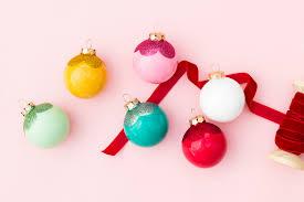 diy glitter scallop ornaments hearts