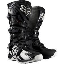 motocross bike boots fox racing comp 5 undertow men s motocross motorcycle boots black