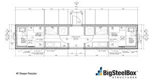 Storage Container Floor Plans - amusing 40 ft container house plans images best inspiration home