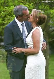 57 ans de mariage couric 57 ans mariée radieuse a dit oui à