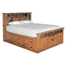 King Size Bed Frame With Storage Drawers Platform Beds