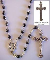 hematite rosary hematite oval rosary everything vestment store