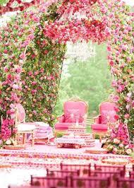 wedding mandaps 10 wedding mandaps that took the fuchsia and white trend to