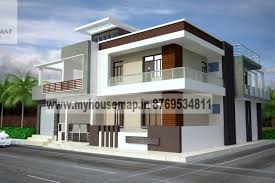 Front Elevation Design House Map Building Design - My home design
