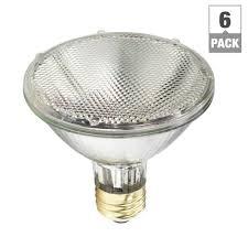 are halogen lights dimmable philips 75 watt equivalent par30s halogen indoor outdoor dimmable