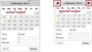 format date javascript jquery javascript jquery date time picker layout format issue stack
