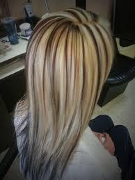 long blonde hair with dark low lights dark brown and blonde low lights brown hair with blonde highlights