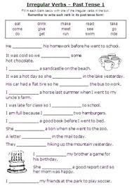 bunch ideas of grammar worksheets tenses for layout shishita