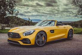 the 2018 mercedes amg gt c roadster is hunting for porsche 911