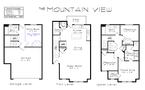 most efficient floor plans draper creekside mountain view floorplan
