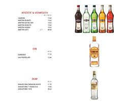 martini bianco glass restauracja chorwacka w warszawie dubrovnik
