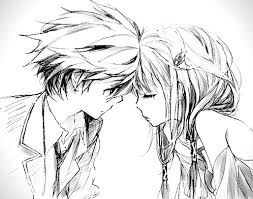 cute anime couple holding hands drawing clip art library