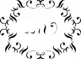 ornamental flourish vector free