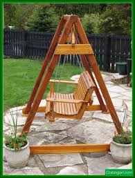 swing a frame plans building a tall swing frame porch swing a