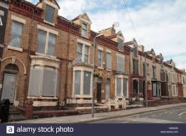 Project Houses A Line Of Boarded Up Houses On Lothair Road Anfield Liverpool