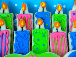 cool birthday candles sweetie petitti happy birthday cookies
