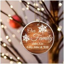 family ornaments wayfair