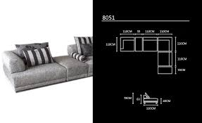 how long is a standard sofa free shipping 2013 modern design l shaped corner fabric sofa best