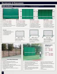 tennis backboards u0026 rebounders 34832a realistic deluxe tennis