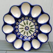 ceramic egg plate 65 best deviled egg platters images on deviled eggs
