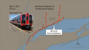 Metro North Maps by Derailment And Collision Of Metro North Railroad Passenger Trains