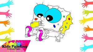 how to draw spongebob squarepants baby spongebob squarepants