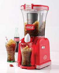 amazon com nostalgia rsm650coke coca cola 32 ounce slush drink