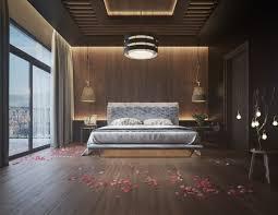 chambre en bois mur en bois pour une déco originale de chambre à coucher