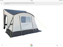Sunncamp Mirage Awning Sunncamp Mirage Size 12 Blue Awning Posot Class