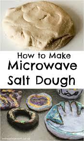 microwave salt dough in the playroom